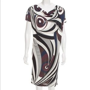 Emilio Pucci Abstract Print Dress 6
